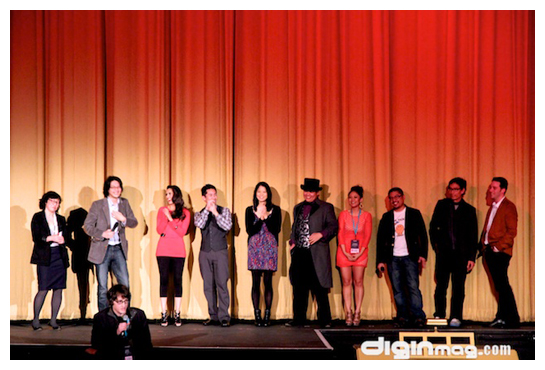 The cast of Yes, We're Open at SFIAAFF30