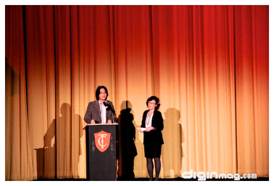 Director Richard Wong and Christine Kwon at SFIAAFF30